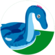 Icon of Lock Ness monster